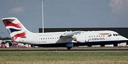 Airliner - BritishAerospace BAe RJ100