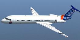 Airliner - Fokker 100