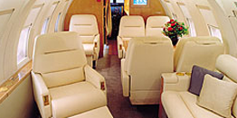 Executive Jet - Heavy - Bombardier Challenger 601 Cabin