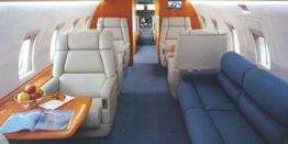 Executive Jet - Heavy - Bombardier Challenger 604 Cabin