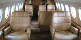 Executive Jet - Heavy - Dassault Falcon 2000 Cabin