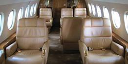 Executive Jet - Heavy - Dassault Falcon 2000 Cabin