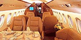 Executive Jet - Heavy - Dassault Falcon 900EX Cabin