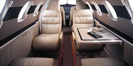 Executive Jet - Light - Cessna Citation Jet C525 Cabin