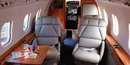 Executive Jet - Midsize - Bombardier Learjet 60 Cabin