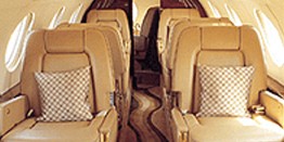 Executive Jet - Midsize - Dassault Falcon 20 Cabin