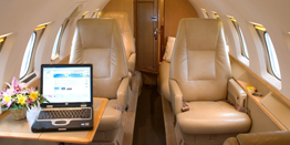 Executive Jet - Midsize - Hawker Beechcraft Hawker 800 Cabin