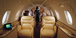 Executive Jet - Super Midsize - Cessna Citation X C750 Cabin