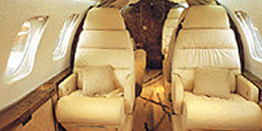 Executive Jet - Super Midsize - Dassault Falcon 50 Cabin