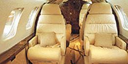 Executive Jet - Super Midsize - Dassault Falcon 50 Cabin