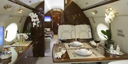 Executive Jet - Ultra Long Range - Gulfstream V Cabin