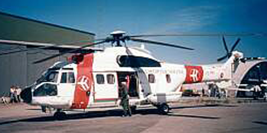 Helicopter - Aerospatiale AS332