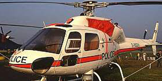 Helicopter - Aerospatiale AS355