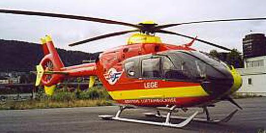 Helicopter - Aerospatiale Eurocopter EC135