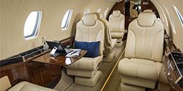 Super Midsize Jet Interior